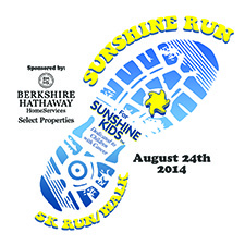 5k walk/run benefiting the Sunshine Kids Foundation