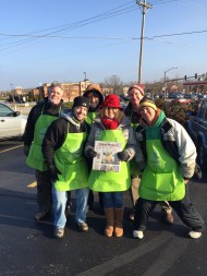 This group braved the cold and raised a ton of money